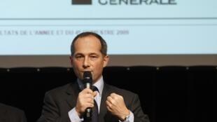 Frédéric Oudéa, PDG de la Société générale.