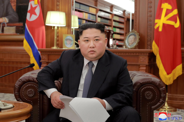 Lãnh đạo Bắc Triều Tiên Kim Jong Un, Bình Nhưỡng, 01/01/2019.