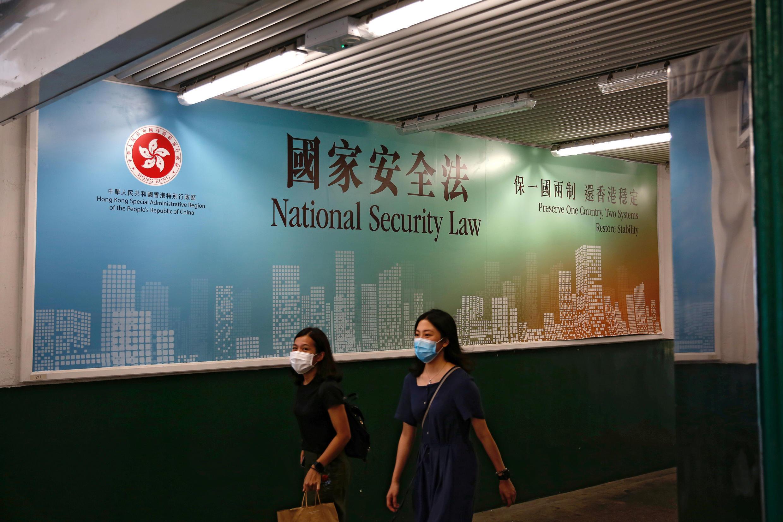 """""""A má decisão e as observações da França em relação a Hong Kong constituem interferência nos assuntos internos da China. A China se opõe fortemente a isso"""", afirmou o porta-voz do Ministério das Relações Exteriores da China, Wang Wenbin."""