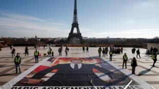 CLIMATE-CHANGE-PARIS - climat - accord de Paris -