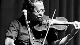 IMAGE Sammy Rabenirainy au violon. 25/03/2021
