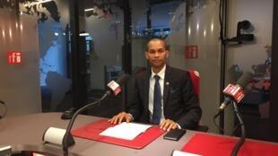 Presidente do movimento Irmãos patriotas da Diáspora da Guiné-Bissau em França, Filinto Djaló de Pina