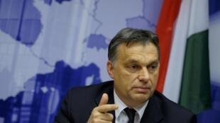 O primeiro-ministro conservador da Hungria, Viktor Orban, conseguiu aprovar nesta sexta-feira sua controversa reforma do banco central.