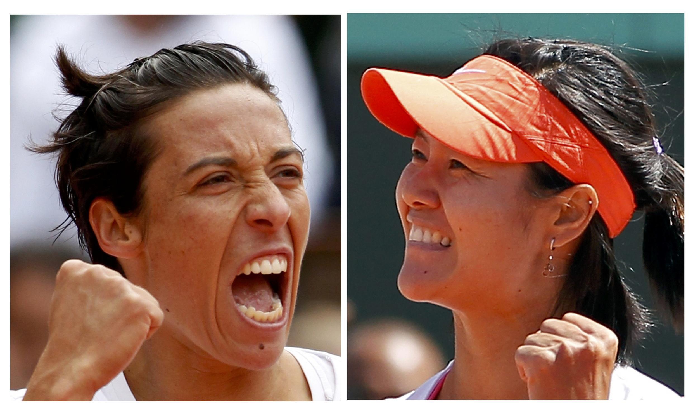 Italiana Francesca Schiavone e chinesa Li Na vão disputar a final feminina do campeonato.