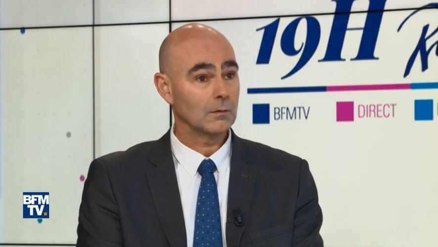 Нлава охранной фирмы Velours Жан-Морис Бернар в эфире BFM TV 11 февраля 2019