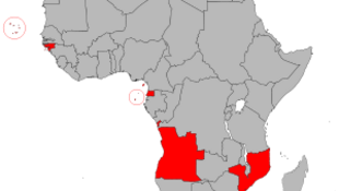 Mapa dos Palop