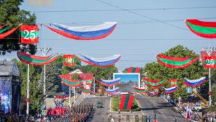 В этом году Приднестровье отметило 25-летие своей независимости от Молдовы, Тирасполь, 2 сентября.