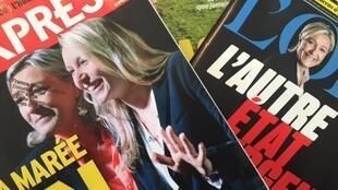 Capas das revistas francesas da semana de 3  a 10 de dezembro de 2015.