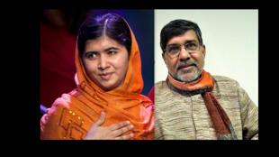 A paquistanesa Malala Yousafzai e o indiano Kailash Satyarthi foram recompensados com o Nobel da Paz por sua luta em defesa dos direitos das crianças.