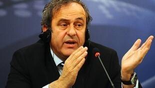 Rais wa shirikisho la soka barani Ulaya UEFA Michel Platin