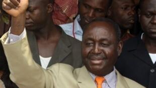 François Bozizé, le président de la République centrafricaine,  le 23 janvier 2011.