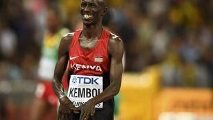 Mwanariadha wa Kenya Ezekiel Kemboi
