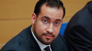 Alexandre Benalla, le 19 septembre 2018 au Sénat, à Paris.