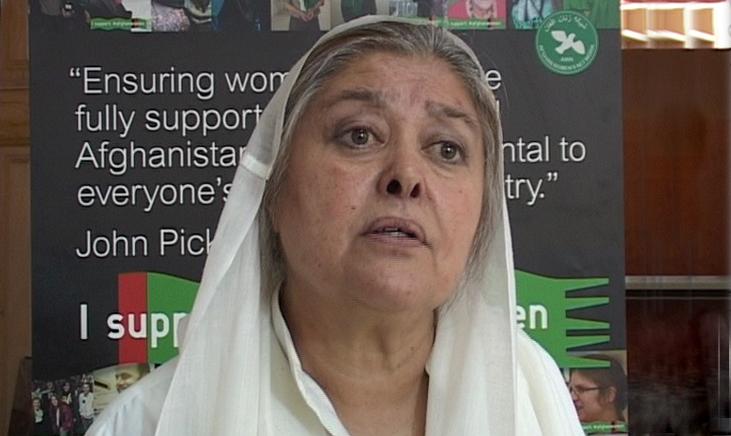 محبوبه سراج،  تحلیلگر مسائل آسیا و عضو شبکه زنان أفغانستان در کابل