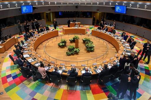 布鲁塞尔,欧盟总部所在地。