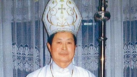 圖為原地下主教靳祿崗現被中國官方任命教區主教助理