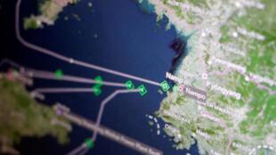 Tàu chở than của Bắc Triều Tiên, không giao được hàng cho Trung Quốc phải quay lại cảng Nampo ngày 11/04/2017
