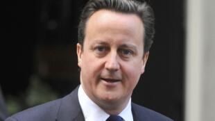 Le Premier ministre britannique, David Cameron.