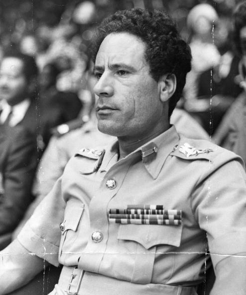 Mouammar Kadhafi, 1979.