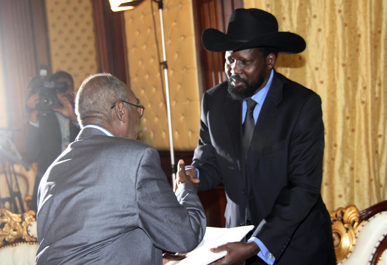 Shugaba yankin Kudancin Sudan Salva Kirr