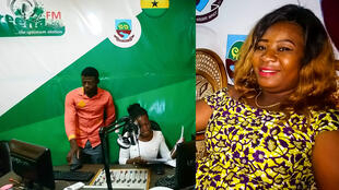 Radio Greena FM et Veronica Lagbeneku