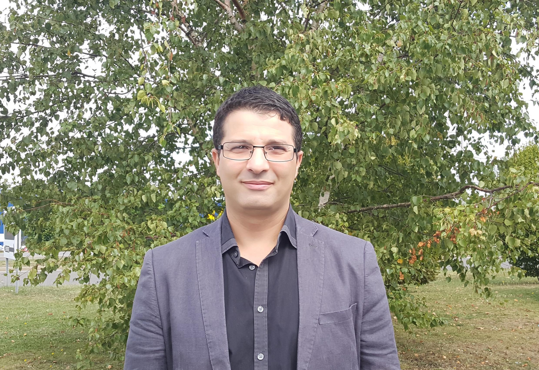 Le chercheur Bilel Ainine.