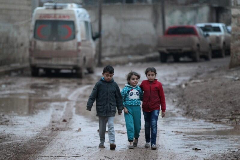 Thị trấn Al Rai, phía bắc tỉnh Aleppo, Syria, ngày 27/12/2016.