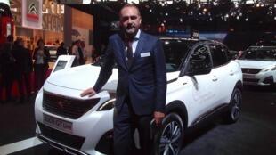 Director de comunicação da PSA, Peugeot Citroën Ibéria, Jorge Magalhães