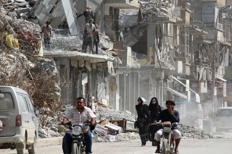 Сирийская Ракка 14 мая 2018.