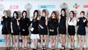 韓國女團TWICE參加活動資料圖片