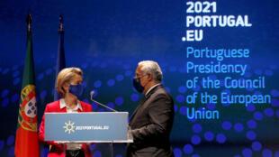 von der leyen_costa_inauguration conseil europeen portugal
