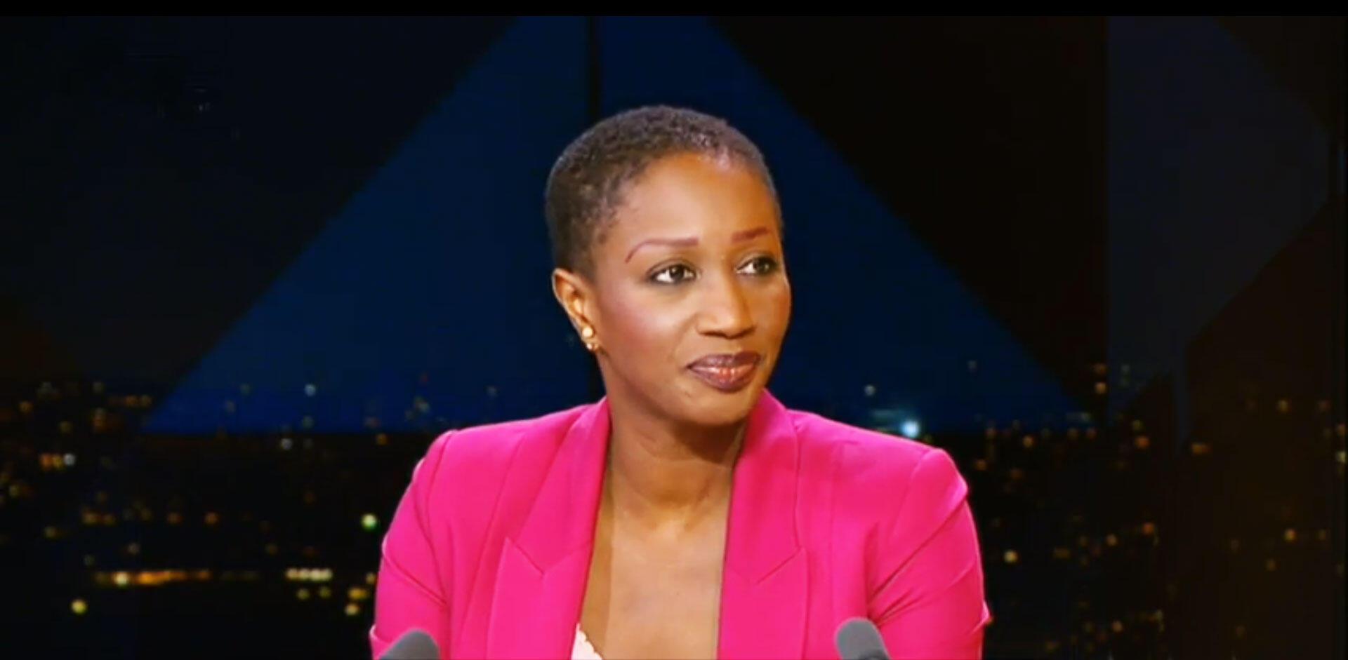 Gnagna Sy, coordinatrice sénégalaise de «Citoyens vigilants» (Copie écran)