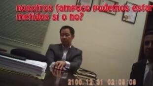 Captura de pantalla del video presentado por el partido fujimorista Fuerza Popular