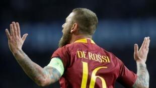 Tsohon dan wasan kungiyar AS Roma Daniele De Rossi.