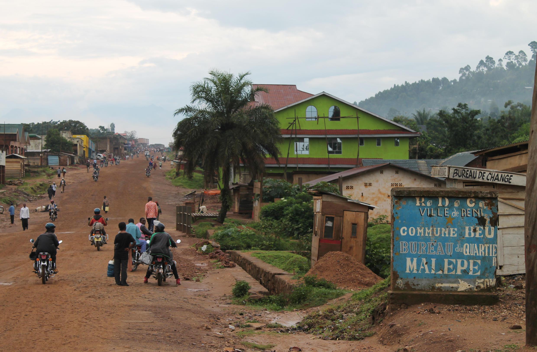 Les populations de la ville de Beni -ici en octobre 2014-et de sa région sont les proies d'exactions répétées.