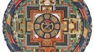 Rompecabezas 'Michèle Wilson' de 150 piezas, el mandala de Vajrabhairava.