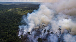Incêndios na Amazónia.