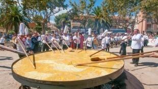 Festa da Omelete.