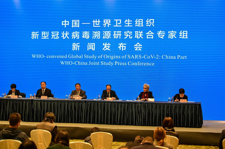Conferencia final de los expertos de la OMS tras su visita a Wuhan, China, el 9 de febrero de 2021