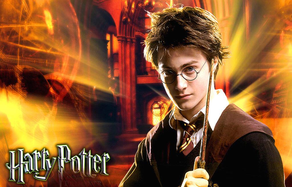 Daniel Radcliffe trong vai Harry Potter (DR)