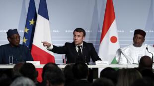 L'Elysée a fait savoir que le président français Emmanuel Macron participera par visioconférence au sommet du G5 Sahel organisé à Ndjamena la semaine prochaine (image d'illustration)