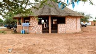 Le bureau des guides de la réserve des girafes de Kouré.