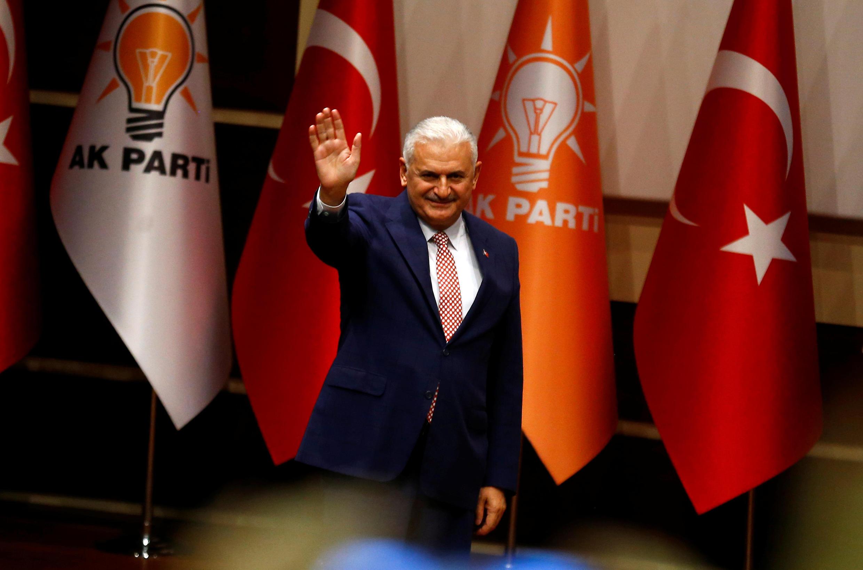 Binali Yildirim، نامزد حزب عدالت و توسعه، برای رهبری این حزب و نخست وزیری ترکیه.
