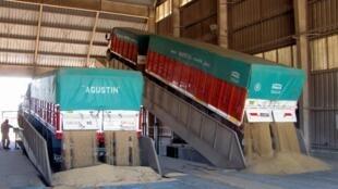 L'Argentine est le troisième exportateur de graines de soja mais surtout le premier exportateur d'huile de soja pour la cuisine et de tourteaux de soja pour les élevages du monde entier.