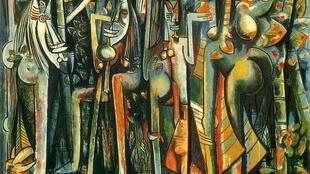 """La Jungla"", de Wifredo Lam, 1943. Museum of Modern Art, New York 2015."