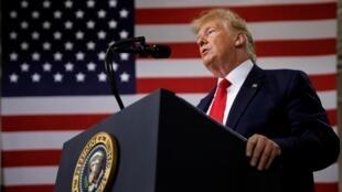 O presidente americano, Donald Trump, fez da luta contra a imigração seu palanque eleitoral