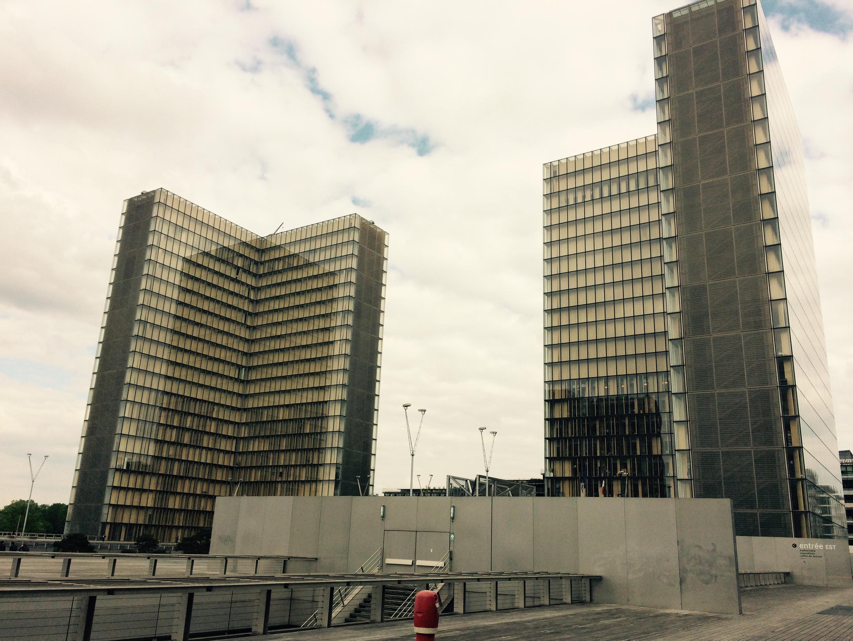 Thư viện Quốc Gia Pháp, BNF, lối vào Ouest.