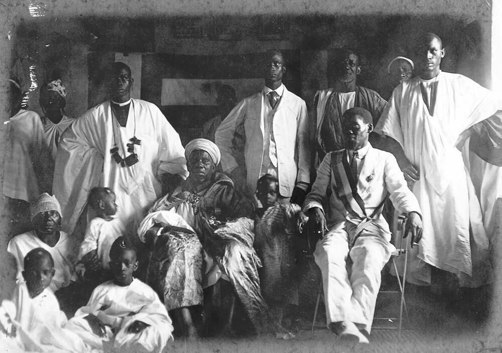 Blaise Diagne chez le fama Mademba Sy.