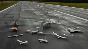 Unmanned aerial vehicles or drones