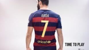 Turan da Vidal zasu fara bugawa Barcelona kwallo bayan wa'adin haramcin sayen 'yan wasa da aka kakabawa kungiyar ya kawo karshen